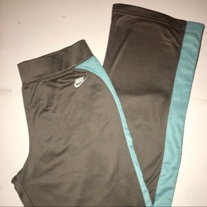 Blue and Gray Nike Pants